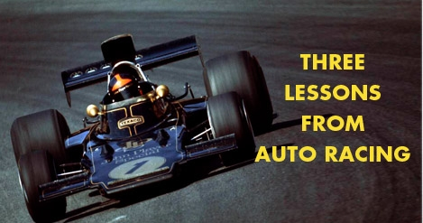 Auto Racing Facts on Business Coaching Article   Three Lessons From Auto Racing