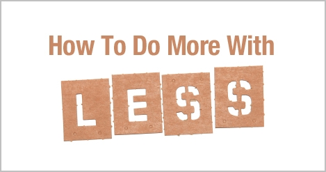 「More with less」的圖片搜尋結果