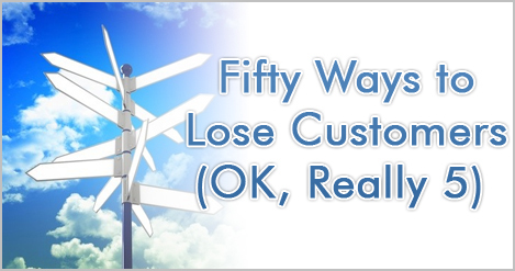 Fifty Ways to Lose Customers by Brad Sugars