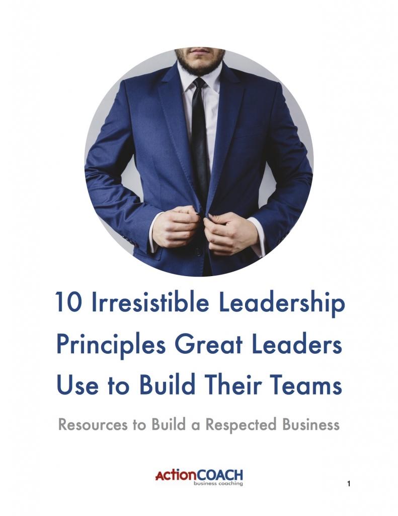 Leadership Principles COVER