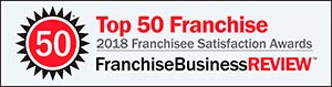 Franchise Business Review's Franchise 50 Rankings