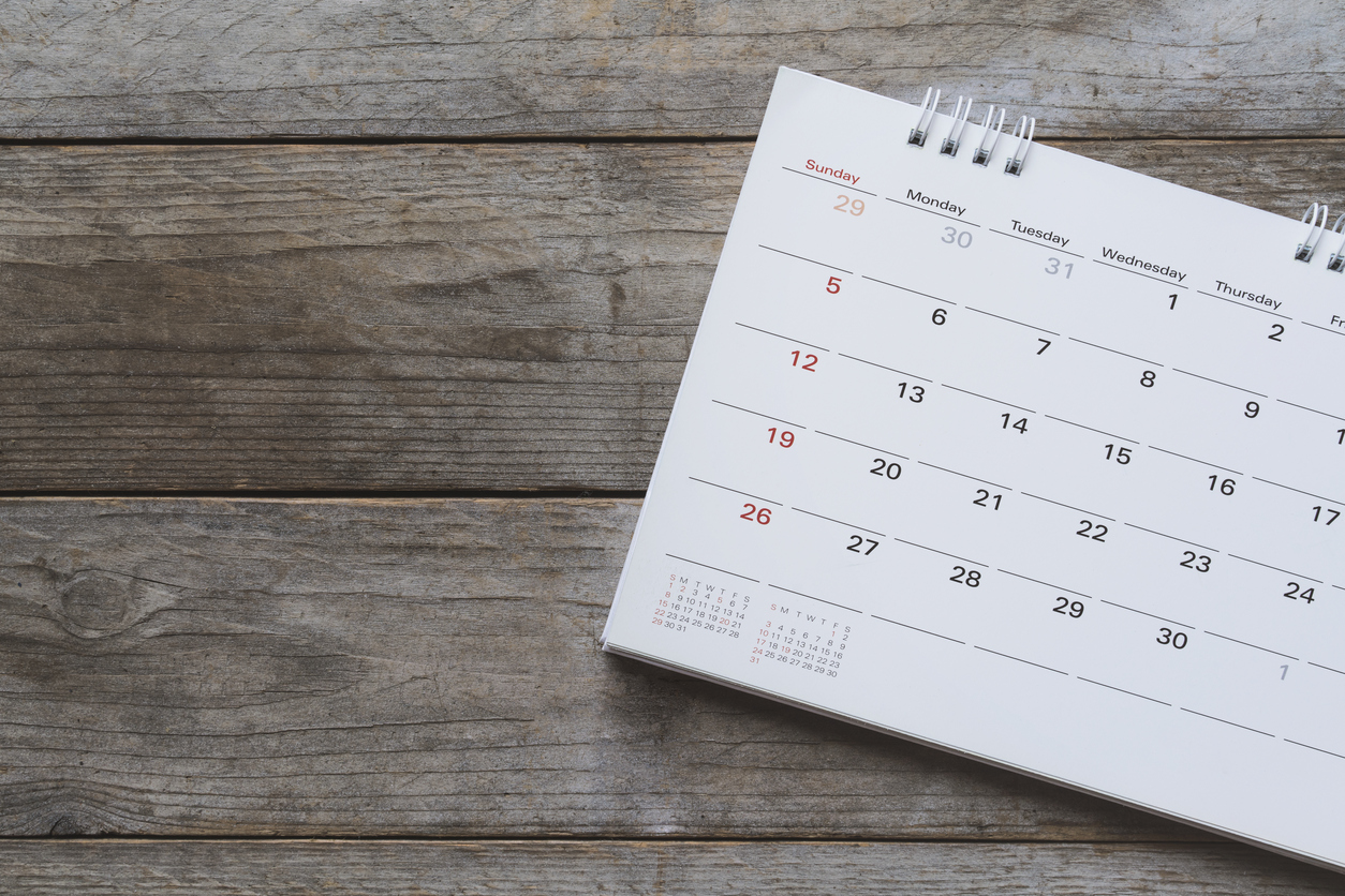 Calendar - FAQ Banner image