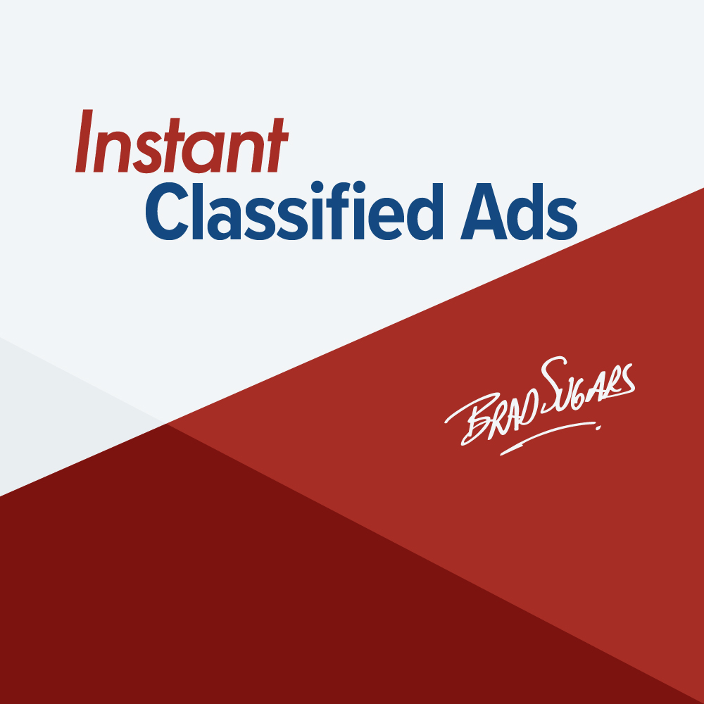 Instant Classified Ads