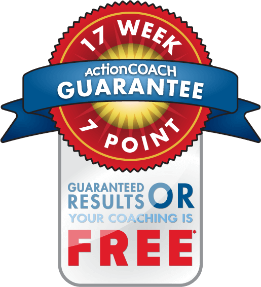 ActionCOACH Guarantee - Logo, Guarantee badge